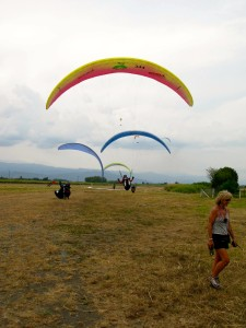 Paragliding instruction